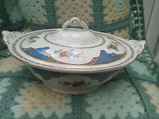 BURLEIGH WARE - SERVING TUREEN  - FLORAL PATTERN