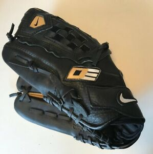 Nike Diamond Elite Baseball Left Glove Show 11.5 Impact Heel Black Tan Web RHT