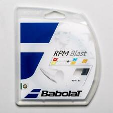 NEW Babolat RPM Blast 17 G Guage 1.25 Tennis String Black 40 Ft Set