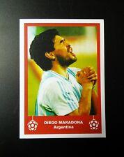 """Argentina-Diego Maradona década-Retro Navidad 'etiqueta de regalo/tarjeta de fútbol"""""""