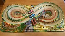 1960s vintage sears big toy box super raceway toy