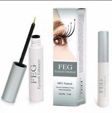 100% FEG Eyelash Enhancer Eye Lash Rapid Growth Serum Liquid Natural 3ML