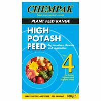 Soluble Plant Food Feed High Potash Chempak No 4 Fruit Flower Vegetable 800g Veg