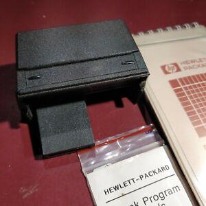 CARD READER for Vintage HP41 series Calculators w/20 Blank Cards & Holder