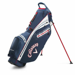 Callaway Hyper Dry C Stand Bag In Navy/White Brand New Model Boxed