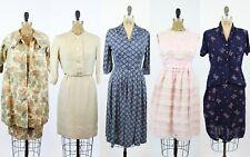 VINTAGE 1940s 1950s RESELLER LOT  | vintage lot of five dresses |  LOT #16