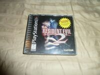 Resident Evil 2 Sony Playstation 1 PS1 Complete Tested Black Label