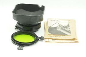 Linhof Lens Shade / Filter Holder & Filters #J51406