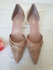 Faith Shoes size 6 - Kitten heel - Leather - Brand New