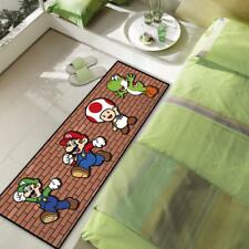 Super Mario New Luigi Velboa Floor Rug Room Bedroom Kitchen Non-slip Mat Carpet