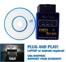 V1.5 ELM327 II OBD 2 Bluetooth Auto Car Diagnostic Interface Scanner for Mazda