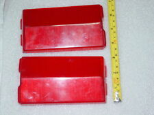 Vintage USSR car tail lights LADA VAZ 2101 FIAT124 red cataphote reflector