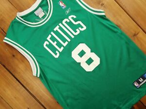 Reebok Boston Celtics Antoine Walker NBA Jersey Size Medium E3