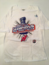 NJ Devils 2003 Stanley Cup Champions Locker Room T Shirt M XL XXL