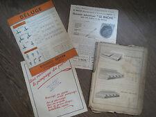 Lotto di tariffe brochure materiale agricola anni 1940 1950 serres abbeveratoi