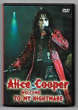 DVD / ALICE COOPER WELCOME TO MY NIGHTMARE (MUSIQUE CONCERT)