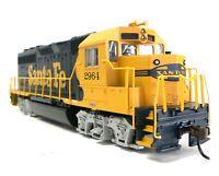 HO Scale Model Railroad Train Engine Santa Fe GP-40 Locomotive DCC & Sound 66302