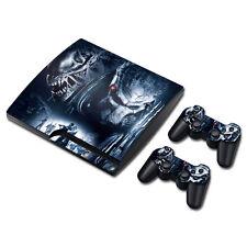 PS3 Slim Playstation 3 Console Skin Decal Sticker Alien VS Predator Design Set