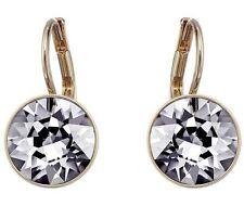 Swarovski 5256737 Earrings Bella Mini RG Crystal Night (grey Not Clear)