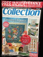 Cross Stitch Collection March 2017 Issue 272 New Sealed Magazine Last Issue
