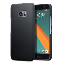 HTC 10 Case Original Hybrid Rigid Armour Tech Rugged Rubberised Rock Black