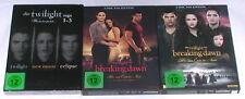 DVD: Sammlung TWILIGHT 1-5 (1 + 2 + 3 + 4 + 5) / Komplett Deutsch