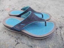 Dansko Katy Flip Flop sandals suede turquoise 40