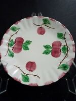 "Vintage Blue Ridge Southern Pottery #3735 AUTUMN APPLE 9 1/4"" Luncheon Plate"