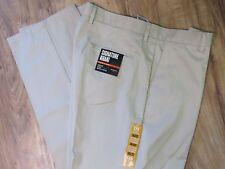 Dockers Khaki Flat Front Classic Fit D3 Chino Pants Mens 38 X 32 NWT $55.00