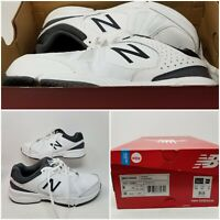 New Balance 519 White Leather Athletic Running Tennis Shoes Sneaker Men's Size 9