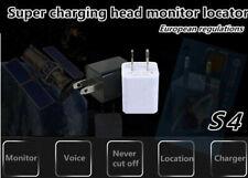 S4 GSM SIM USB plug Power sound hidden nanny listening Voice bug charge adapter