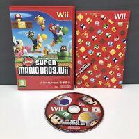New Super Mario Bros | Wii | Nintendo | VGC | PAL