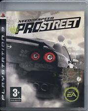 NEED FOR SPEED PRO STREET PS3 NUOVO, EDIZIONE ORIGINALE ITALIANA