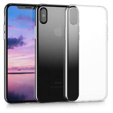 Crystal Case für Apple iPhone X Transparent TPU Silikon Schutz Hülle Cover U/A