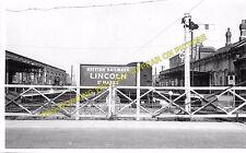 Lincoln St. Marks Railway Station Photo. Newark Line. Midland Railway. (8)