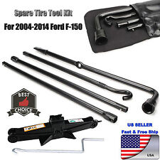 Fit For (04-14) Ford F150 Spare Tire Tool Kit Lug Wrench W/ 2 Tonne Scissor Jack