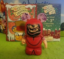 "Disney Vinylmation 3"" Park Set 1 Mickey's Christmas Carol Pete Future with Box"