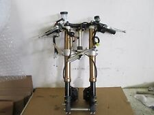 07 08  SUZUKI GSXR 1000  COMPLETE FRONT END    GSX-R 1000 FORKS TREES CALIPERS