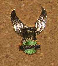 MOTOR CYCLE MOTO PIN EAGLE KAWASAKI LOGO 1.2""