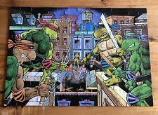 Vintage 1987 RoseArt Teenage Mutant Ninja Turtles April Rooftop Puzzle TMNT