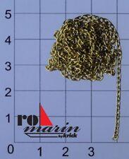 romarin by Krick Ankerkette Messing Typ F50 1m - ro1309