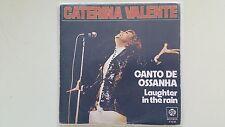 Caterina Valente - Canto de Ossanha 7'' Single SPAIN