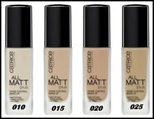 Catrice HD Liquid Coverage Foundation 24h All Shades UK Stock 100 Genuine 010 Light Beige