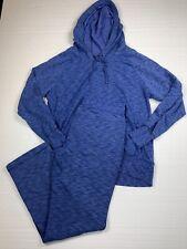 green tea womens XL sweatsuit blue straight leg