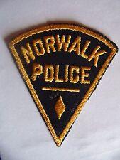 INSIGNE ANCIEN POLICE USA : NORWALK POLICE