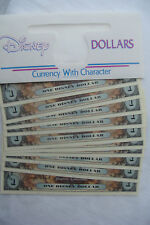 2011 DISNEY DOLLAR PIRATES of THE CARIBBEAN  10 in SERIES LOW 'E' NUMBERS