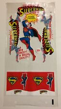 Vintage Unused Superman Enriched Bread Bag 1966 Mint - Old Warehouse Stock