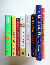 Lot of *8* CHILDREN'S BOOKS for Readers in Grade 4-7: Replay, Heat, Lucky, Etc.