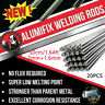 20X 50cm/1.64ft 2.0/1.6mm Solution Welding Flux-Cored Rods Aluminum Wire Brazing