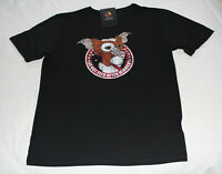 Gremlins Gizmo Do Not Feed Mens Black Printed Short Sleeve T Shirt Size L New